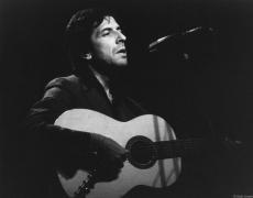 Leonard Cohen, NYC, 1974