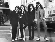 Kiss, Dressed to Kill, New York City, 1974, Silver Gelatin Photograph