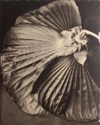 """Hibiscus"", 1998 (TB 602), 24 x 20 Toned Silver Gelatin Photograph, Ed. 25"