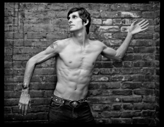 Perry Farrell, New York, NY, 2003, 20 x 16 inches, Silver Gelatin Photograph, Ed. of 25