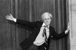 Andy Warhol, Doorway, Paris, 1981