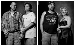 Tornado Victims / Lottery Winners, 2006 / 2006, 20 x 32-1/2 Diptych, Archival Pigment Print, Ed. 20