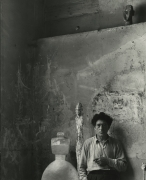 Alberto Giacometti, Paris, 1954, Silver Gelatin Photograph