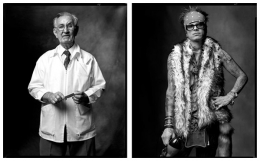 Barber / Hairdresser, 2006 / 2004, 20 x 32-1/2 Diptych, Archival Pigment Print, Ed. 20