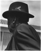 John Lee Hooker, San Francisco, CA, 1990 (50621-19-18), Silver Gelatin Photograph