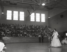 An Assembly at Booker T. Washington High School, n.d., Archival Pigment Print