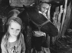 Children with Blind Horse, 2008