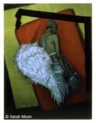 L'ange des studio, 2001, 29-1/8 x 22-1/2 Color Carbon Photograph, Ed. 15