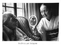Balthus and Setsuko, 2000, 11 x 14 Silver Gelatin Photograph, Ed. 25