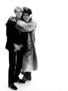 Andy Warhol & Dustin Hoffman (Tootsie), New York, 1982, 17 x 11 Archival Pigment Print