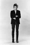 Bob Dylan Standing In Studio, 1965, Silver Gelatin Photograph