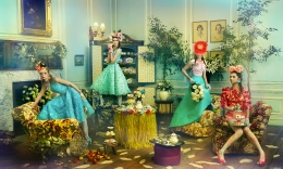 Untitled X, Oscar de la Renta, Town & Country, 2013, 16 x 20 inches, Archival Pigment Print, Edition of 15