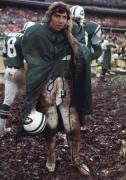 Joe Nameth, NY Jets vs Buffalo Bills, Shea Stadium, NY, 1974, Color Photograph