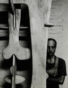 Isamu Noguchi, 1947, Silver Gelatin Photograph