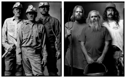 Coal Miners / Dairy Farmers, 2000 / 2004, 20 x 32-1/2 Diptych, Archival Pigment Print, Ed. 20