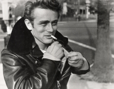James Dean (With Gloves and Cigarette), 1955, 16 x 20 Silver Gelatin Photograph