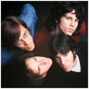 The Doors (Looking up, color), 1967, 9 x 9 Iris Print