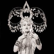 Cyndi Lauper, Headdress, Los Angeles, 1986, Archival Pigment Print
