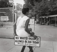 """Thursdays, called """"Maid's Day Off"""", Overton Park Zoo, n.d., Archival Pigment Print"""