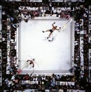 Muhammad Ali Knocks Out Cleveland Williams, Houston, Texas, November, 1966, 11 x 14 Color Photograph, Ed. 350