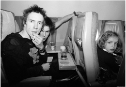 Johnny Rotten & Sid Vicious, Europe, 1977