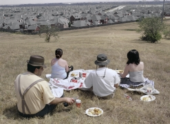 Lunch on the Texas Plains, 2001, Archival Pigment Print