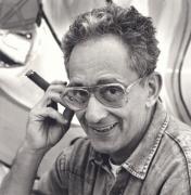 Frank Stella, New York City, 1990, 10 x 8 Silver Gelatin Photograph