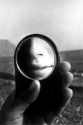 Untitled (MJ in Little Mirror), 1980, 14 x 11 Silver Gelatin Photograph, Ed. 25