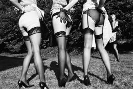 Leg Show, Rouilly le Bas, 2002, 16 x 20 Silver Gelatin Photograph, Ed. 15