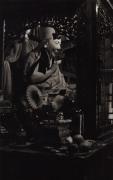 """Ling Rinpoche"", Dharamsala, 1987, 16-3/8 x 11 Platinum Photograph, Ed. 25"