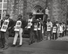 Sanitation Workers Strike, Memphis, TN, 1968, Archival Pigment Print