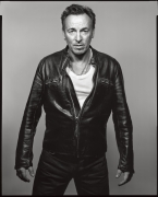 Bruce Springsteen, New York, NY, 2012, 20 x 16 inches, Silver Gelatin Photograph, Ed. of 25