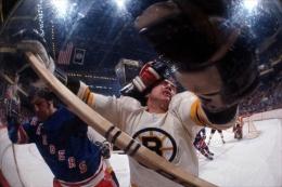 New York Rangers vs. Boston Bruins, May, 1972, 16 x 20 Color Photograph, Ed. 150