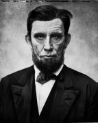 Alexander Gardner / Abraham Lincoln (1863), 2017, 11 1/2 x 9 1/2 Archival Pigment Print, Ed. of 35