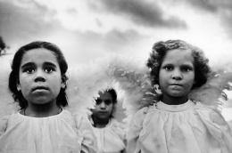 Three Communion Girls, Juazeiro do Norte, Brazil 1981, 16 x 20 inches, Silver Gelatin Photograph