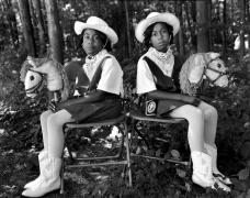 Twins Festival, Twinsburg, Ohio, 1998, Silver Gelatin Photograph