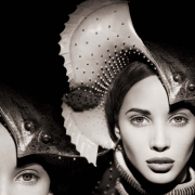 Christy Turlington, Manta Ray -The Surreal Thing, Series, New York, 1987, Archival Pigment Print