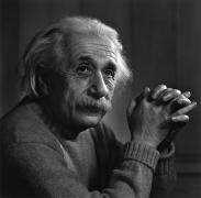 Albert Einstein, 1948, 20 x 16 Silver Gelatin Photograph