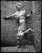 Hedwig (John Cameron Mitchell), New York, NY, 2001, 20 x 16 inches, Silver Gelatin Photograph, Ed. of 25
