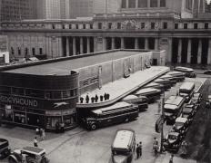 Greyhound Bus Terminal, New York, 1936