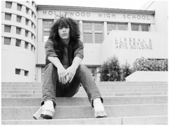 Johnny Thunders, Hollywood High School, LA, CA, 1973