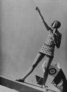 Mlle Katkoff, Swimwear by Lanvin, 1928, 20 x 16 Platinum Palladium on 24 x 20 Paper, Ed. 27