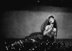 Chelo as Cleopatra, New Orleans, 1955, Silver Gelatin Photograph