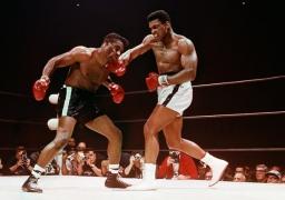 Muhammad Ali defeating Floyd Patterson, Las Vegas, Nevada, November, 1965