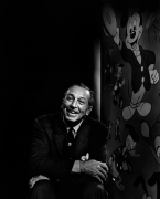 Walt Disney, 1956, 20 x 16 Silver Gelatin Photograph