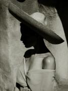 Charlotte in Sombrero, New Mexico, 1988, Archival Pigment Print