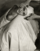 Carmen Face Massage, 1946, 24 x 20 Silver Gelatin Photograph