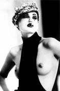 Garconne, (Nadja Auermann), Paris, 1991, Silver Gelatin Photograph