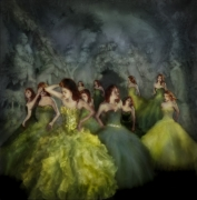 Eleven,2011, Hand Tinted Archival Pigment Print