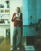David Hockney: London, England, 1978, Vintage Color Polaroid;